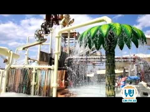 Beyond the beach thundering surf waterpark lbitv aug for Lbi surf fishing report