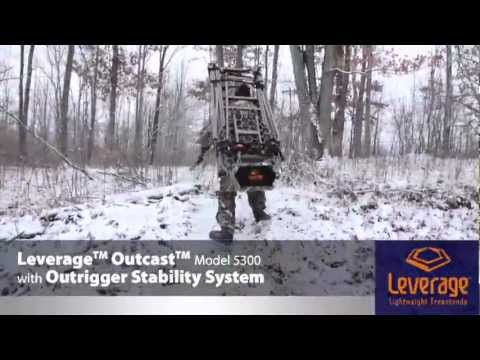 Leverage™ Outcast™ Telescoping Ladder Stand