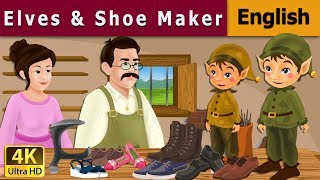 Elves And The Shoe Maker in English | Story | English Fairy Tales