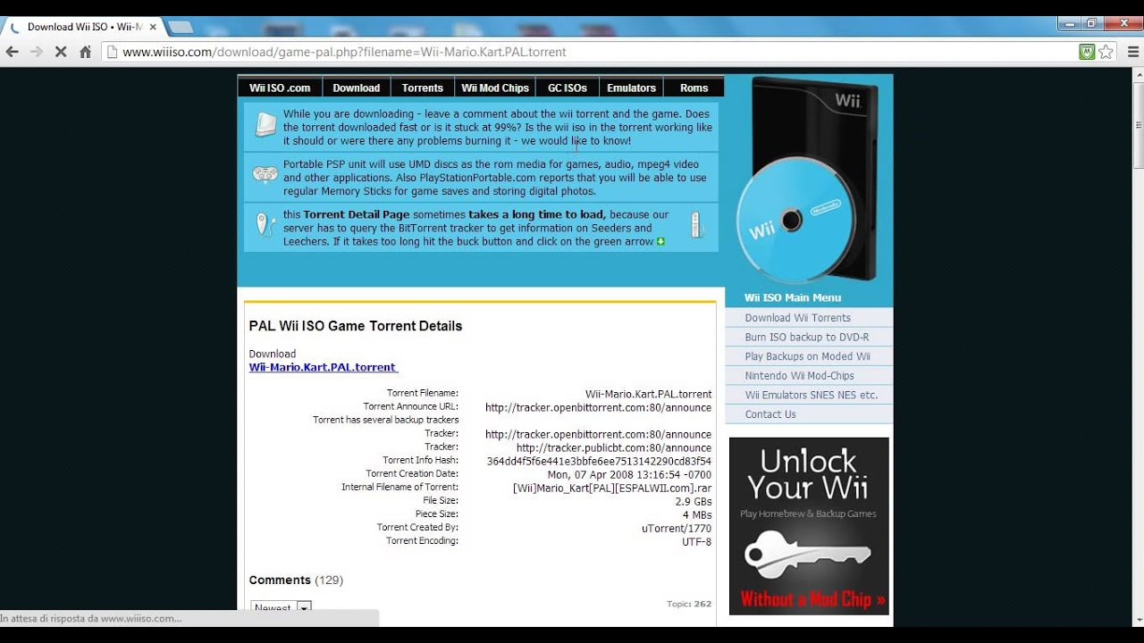 download pal wii iso torrent
