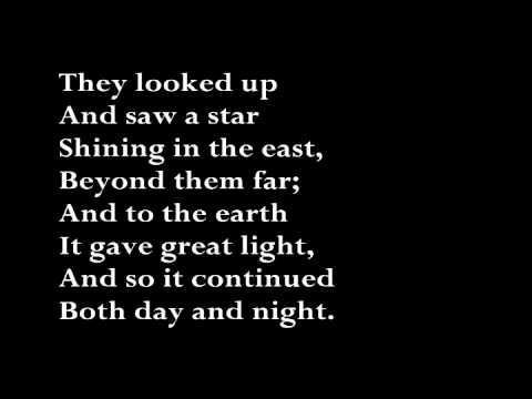 The First Noel (with lyrics)