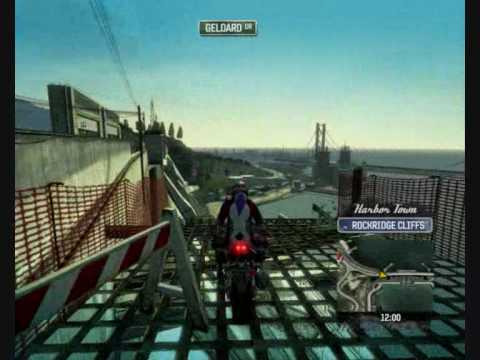 Burnout Paradise Bike glitchs