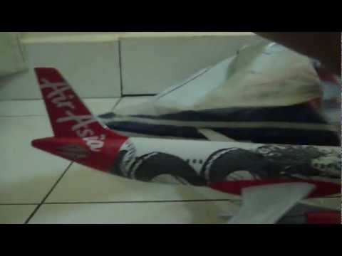AirAsia A320-200 Dragon Livery Unbox