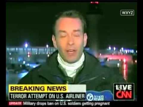Buried CNN Report: ANOTHER man arrested Christmas Day; Same Route, Same Airline; Different Flight