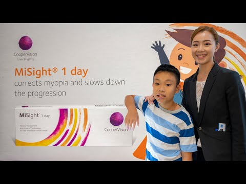How to keep myopia under control with MiSight Contact Lenses? Ep:01