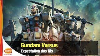 Gundam Versus - Expectativa dos fãs no Anime Friends