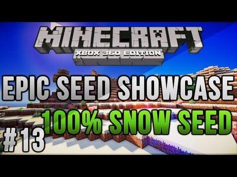 Minecraft Xbox 360/PS3: 100% ALL Snow Biome! TU12 | MCXBLA Seed | Ep 13