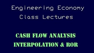 Download Lagu Engineering Economy Lecture - Interpolation and Rate of Return Gratis STAFABAND