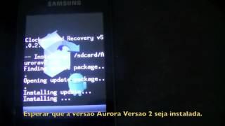 Galaxy Y GT5360 Como instalar Android 40.4 passo-a-passo