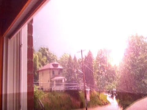 Crazy Lightning Storm Strike! video