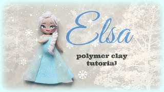❅ Elsa - Frozen Polymer clay Tutorial ☃ ❅