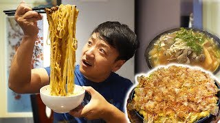 BEST Korean SEAFOOD PANCAKE & Chicago CHINATOWN