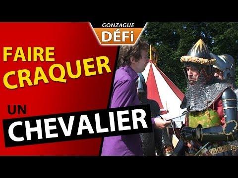 image vidéo GonzagueTV : défi  faire craquer un chevalier