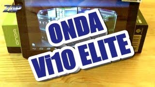 Onda Vi10 Elite ICS Android 4.0.3 Tablet Review - Allwinner A10 - HDMI - Merimobiles - ColonelZap