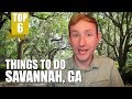 TOP 6 THINGS TO DO IN SAVANNAH, GA (On a Budget)