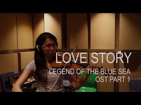 LYn (린) Love Story - The Legend Of The Blue Sea OST Part 1 (Violin Cover By Mary-Anne)