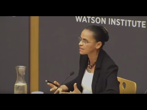Marina Silva ─ Opportunities and Challenges For Sustainable Development in Brazil