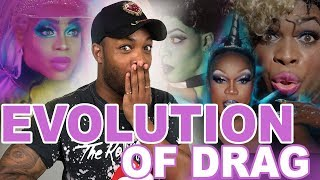 EVOLUTION OF DRAG