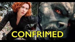 NEW BLACK WIDOW FOOTAGE AND MORBIUS TRAILER CONFIRMED