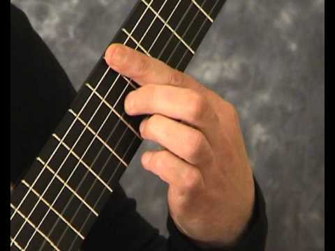 How to play Romance on the guitar, part 4.