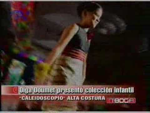 Olga Doumet presentó colección infantil