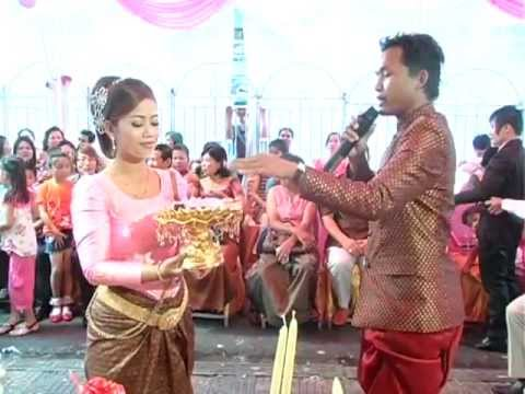 Khmer Wedding ceremony Mr. Roth & Pisey in 2011. It's a fun time presented by Joker Smarnj and Miss