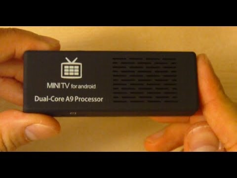 mk808b Android Google TV Stick Unboxing & Test - Part 1