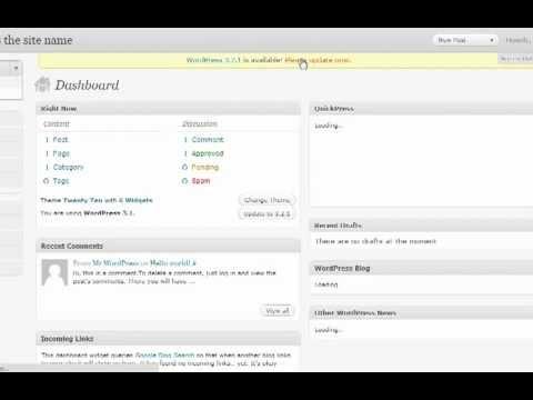 Install WordPress 3 with cPanel [WordPress 3 Tutorial ep1]
