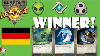 Germany Keyforge Vault Tour Winning Deck!! (The Pink Fraud!)