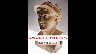 Campaigns of Pyrrhus, 15: October-December 277, Saving Taras