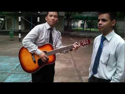 Sabse Peeche Hum Khade- Cover by Vijay Guitar-Nirpeksh Thapa