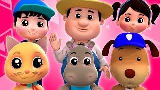 🔴 Nursery Rhymes by Farmees | Cartoon Videos For Toddlers | Songs For Kids