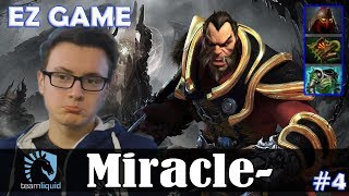 Miracle - Lycan MID | EZ GAME | Dota 2 Pro MMR Gameplay #4