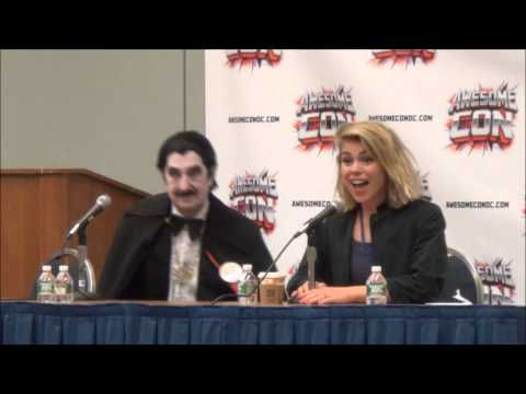 Full Talk Billie Piper AwesomeCon Washington DC 04-20-2014