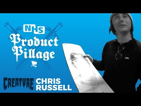 Product Pillage: Chris Russell | Creature Skateboards