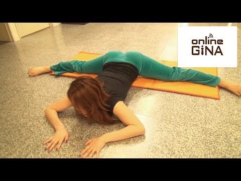 【Online GiNA】体が硬い人でも必ず開脚が出来るようになるストレッチ方法(泉栄子先生)
