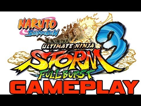 Naruto Shippuden Ultimate Ninja Storm 3 Full Burst - First Look / Gameplay - Part 1 (PC)