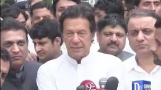 Imran Khan comments on Eid day