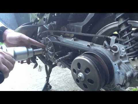 How a GY6 Variator and Drive Belt Works