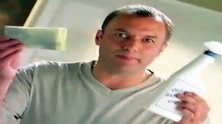 Excel Flash Bathroom Spray Advert Featuring Karl Howman