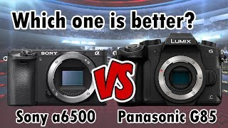 Sony a6500 vs Panasonic G85 | Why I bought the Sony a6500 | RehaAlev