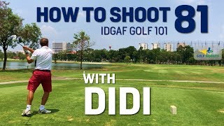 How to Lower Your Golf Scores No Swing Change - PLAY TO YOUR STRENGTHS - IDGAF Golf 101