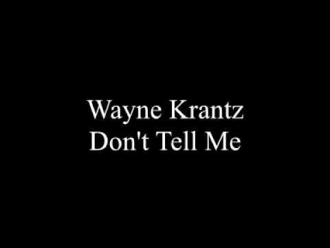 Wayne Krantz - Don't Tell Me