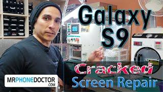 Samsung Galaxy S9/S9 Plus Front Glass Broken Screen Repair/Replacement Teardown