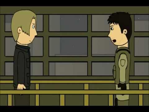 parodia Resident evil 6, parte 2 (loquendo español)