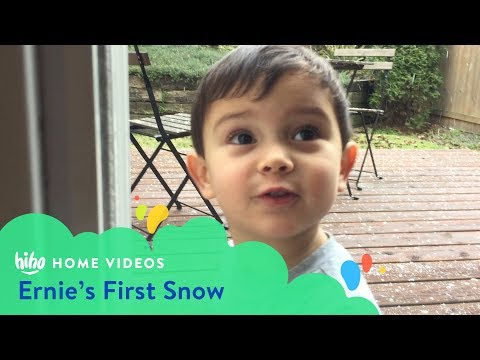 Ernie's First Snow | Home Videos | HiHo Kids