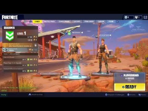 Fortnite Playground Mode Funny Moments and Fails #3 Plus Hilarious Prank