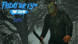 JASON PART 5 (ROY) WITH MACHETE | FRIDAY THE 13th THE GAME