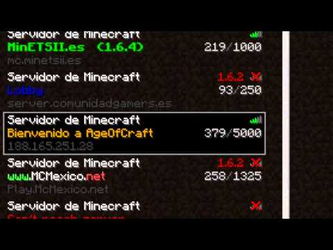 Minecraft 1.6.4 Server No Premium No Hamachi - Survival Games, The Walls, Proyec