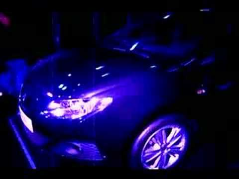 Auto Moto Show KATOWICE 2008 ( nowy Seat Ibiza ) Video